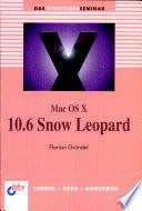 Mac OS X 10 6 Snow Leopard