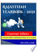Rajasthan Current Affairs Yearbook 2021 For Competitive Exams Preparation