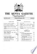 Kenya Gazette