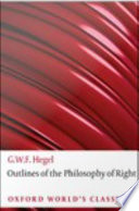 Outlines Of The Philosophy Of Right book