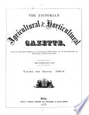The Victorian Agricultural   Horticultural Gazette Book PDF