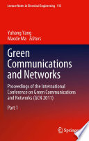 Green Communications and Networks Exchange Of Information On Best Practices For