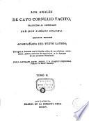 Los Anales De Cayo Cornelio Tacito Traducidos Al Castellano