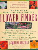 The American Horticultural Society Flower Finder