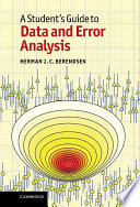 A Student s Guide to Data and Error Analysis