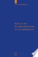 Kant und die Bewusstseinstheorien des 18  Jahrhunderts