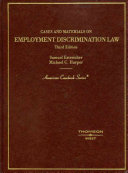 Cases and Materials on Employment Discrimination Law