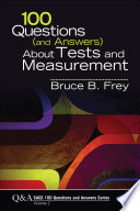 100 Questions  and Answers  About Tests and Measurement