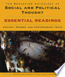 The Broadview Anthology of Social and Political Thought  Essential Readings