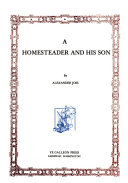 A Homesteader and His Son