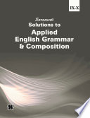 Solutions to Applied English Grammar and Composition