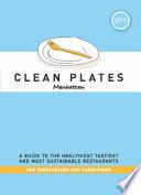 Clean Plates Manhattan 2012