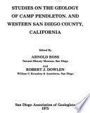 Studies on the Geology of Camp Pendleton