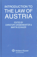 Introduction to the Law of Austria