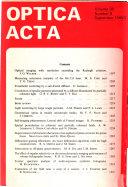 Optica Acta