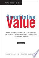 Quantitative Value    Web Site