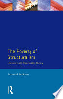 The Poverty of Structuralism