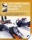 LEGO MINDSTORMS NXT One Kit Wonders