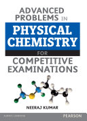 Advanced Problems In Physical Chemistry For Competitive Examination
