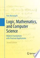 Logic  Mathematics  and Computer Science