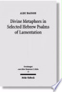 download ebook divine metaphors in selected hebrew psalms of lamentation pdf epub