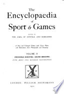 The Encyclopaedia of Sport and Games Book PDF