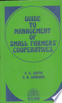 Guide to Management of Small Farmers  39  Cooperatives