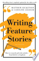 Writing Feature Stories book