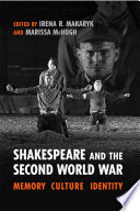 Shakespeare and the Second World War