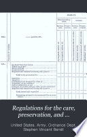 Regulations for the Care  Preservation  and Accountability of Ordnance and Ordnance Stores