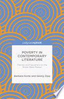 Poverty In Contemporary Literature book