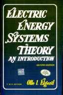 Electric Energy Systems Theory