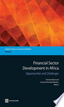 Financial Sector Development in Africa