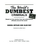 The World S Dumbest Criminals