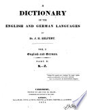 A Dictionary of the English and German Languages