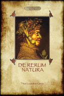 De Rerum Natura   on the Nature of Things