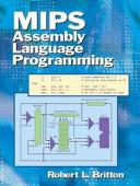 MIPS Assembly Language Programming