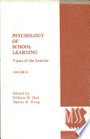 Psychology of School Learning  Views of the Learner  Nativism and interactionism