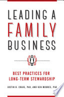 Leading a Family Business  Best Practices for Long Term Stewardship