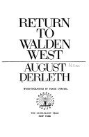 Return to Walden West