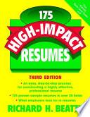 175 High Impact Resumes