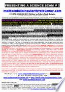 Science Conspiracy Website 2