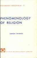 Phenomenology of Religion