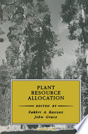 Plant Resource Allocation