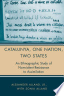 Catalunya  One Nation  Two States