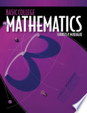 Basic College Mathematics  A Text Workbook