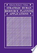 Strategic Human Resource Planning Applications
