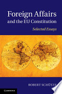 Foreign Affairs and the EU Constitution