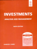 Investments  Analysis And Management  9Th Ed