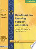 A Handbook for Learning Support Assistants